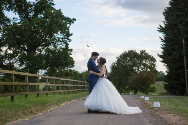 Gabriella and Danny at Milling Barn Hertfordshire