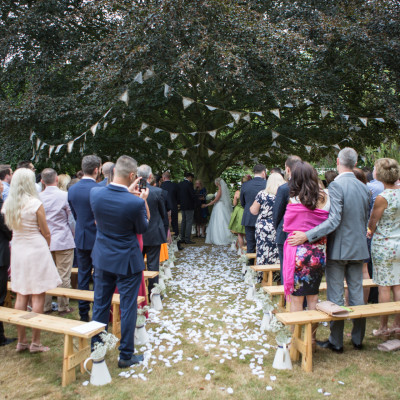 Hertfordshire Harry Potter humanist wedding ceremony.